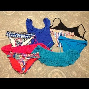 Swim Suit Bundle size small/xs